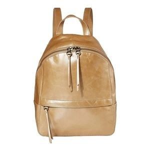 Used hobo cliff backpack in gold dust
